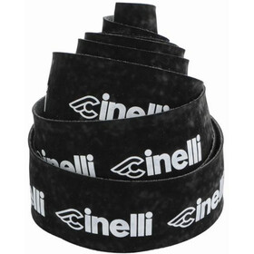 Cinelli Logo Velvet Handlebar Tape black/white